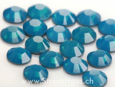 2038 / 2078 Caribbean Blue Opal A (394)(Hot-Fix)*