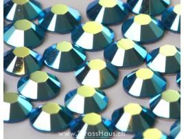 2058 / 2088 Caribbean Blue Opal AB F (394)(AB)(ohne Kleber)