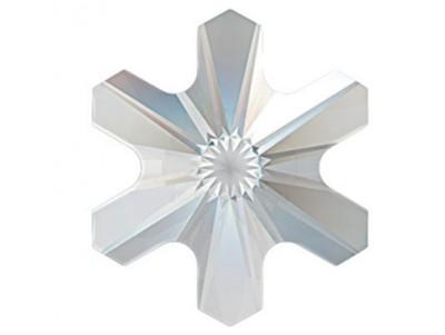 2826 Crystal Schneeflocke Hot-Fix