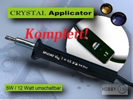Kristall - Applikator Brillant King komplett