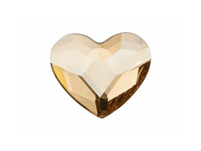 2808 Crystal Golden Shadow (001 GSHA) Herz Hot-Fix