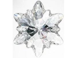 2753 Crystal Edelweiss FB (001)(Hot-Fix)