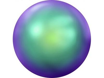 2080/4 Crystal Scarabaeus Green (001 SCGR) Halb-Perle Hot-Fix