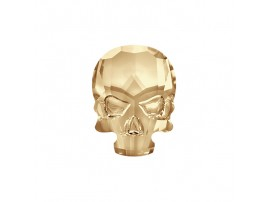 2856 Crystal Golden Shadow (001 GSHA) Skull Hot-Fix