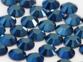 2028 Crystal Metallic Blue SS20 Hot-Fix
